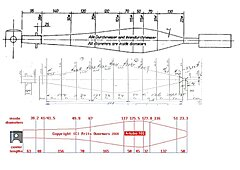 Click image for larger version.  Name:Pipe progression rotax to aprilia.jpg Views:172 Size:203.1 KB ID:347592